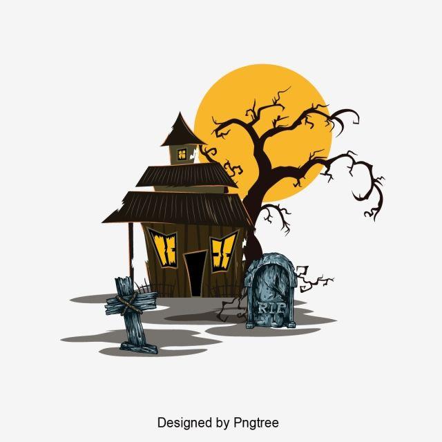 Fashion Simplicity Halloween Phantom Graphic Design Material Color Hand Painted Cartoon Cute Elem Simple Cartoon Halloween Cartoons Halloween Design