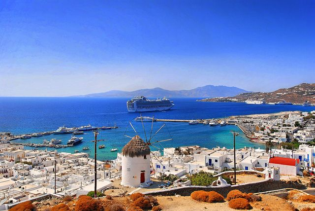 """Cruise Ship 'Ruby Princess"""" in the Bay of Mykonos   Cruise S…   Flickr"""