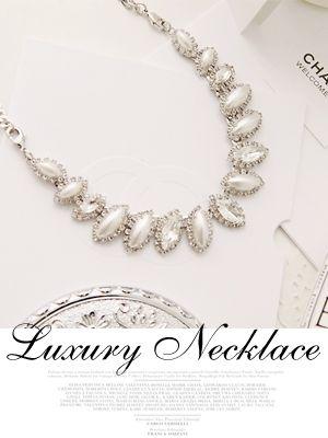 Korea feminine clothing Store [SOIR] Avenue / Size : FREE / Price : 37.79 USD #korea #fashion #style #fashionshop #soir #feminine #accessory #jewelry #necklace