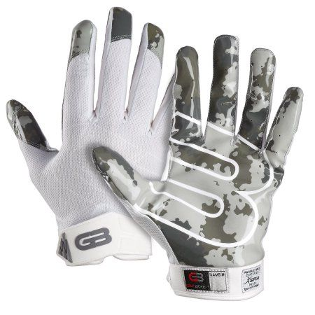 Grip Boost Stealth Football Gloves Pro Elite, White
