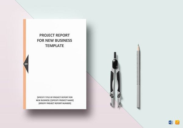 new-business-project-report-template