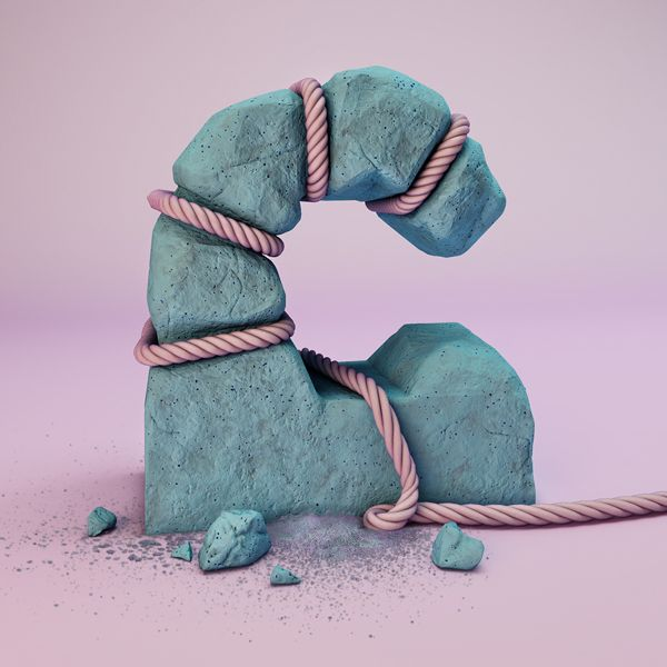 The Sculpted Alphabet by FOREAL