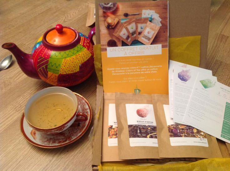 Un instant dégustation avec votre coffret Découverte, 100% personnalisable. Colors of Tea, thés et tisanes