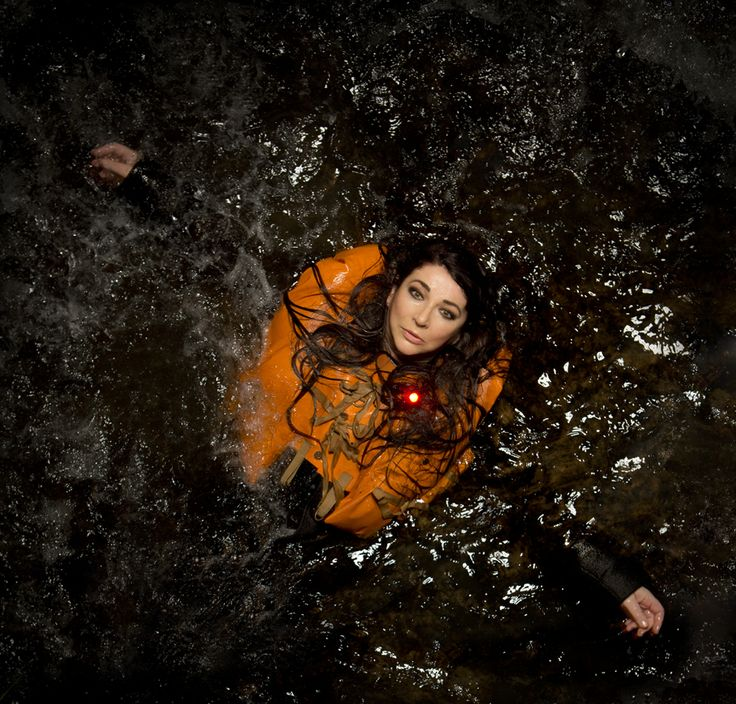 Kate Bush, revisiting the water.