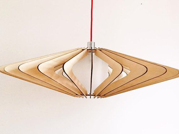 The V Ceiling Light is a handmade shade made out 6mm plywood, it is designed by myself in which it is then laser cut prepared and then assembled. The light is assembled through a slotting process no glue is used it is very easy to assemble and disassemble, it is sent flat pack to the