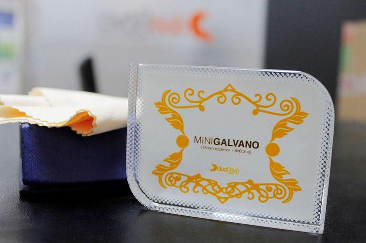 ► Mini Galvano, cristal fotográfico. Dimensión: 8x6 cms // + info: ventas@duonovo.cl / Fono: 2 227241 / Baquedano 725 · Local 43 · Antofagasta - Chile