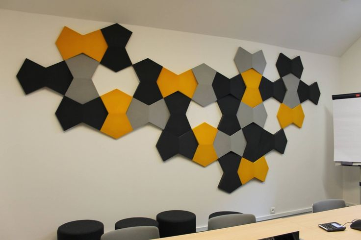 Fluffo Chain  - soft, acoustic wall panels