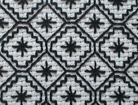 feeling stitchy: Free Blackwork Pattern by Zoe from The Making Spot