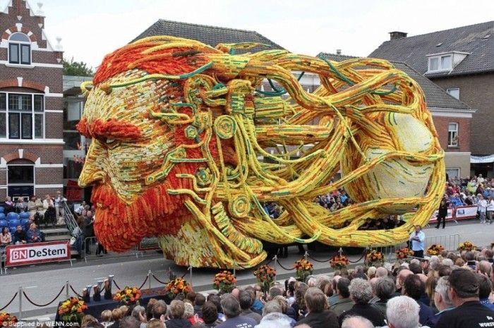 "Парад цветов ""Corso Zundert"" в Нидерландах"