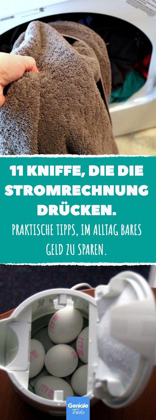 11 Kniffe, die die Stromrechnung drücken. #Stroms…