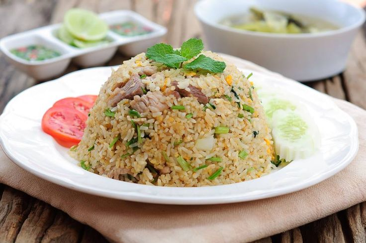 Did you try this Thai dish while travelling Phuket? It's fried rice with chili sauce and soup.  Visit - http://PhuketNow.com/ – where your holiday begins!