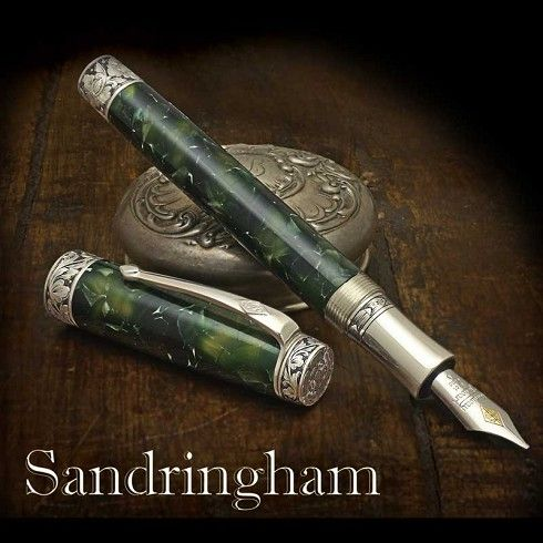 Conway Stewart Sandringham Fountain Pen - Limited Edition