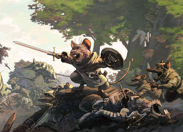 Redwall Series by Brian Jacques #nanowrimo character inspiration