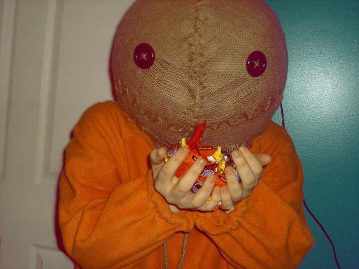diy trick r treat sam costume instructions - Trick R Treat Halloween Costume