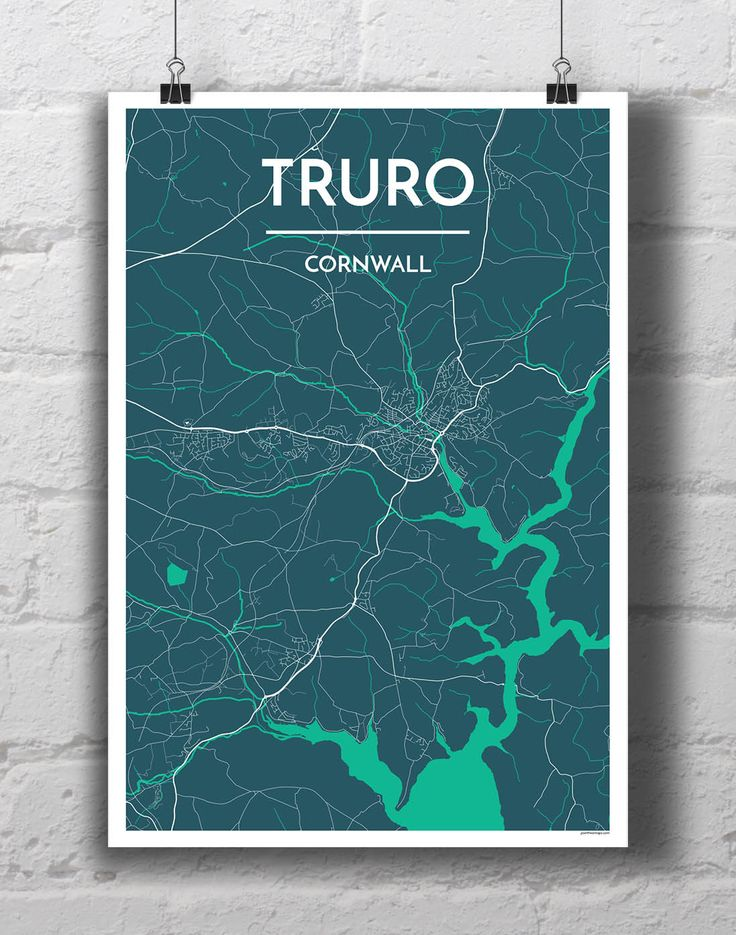 Truro City Map