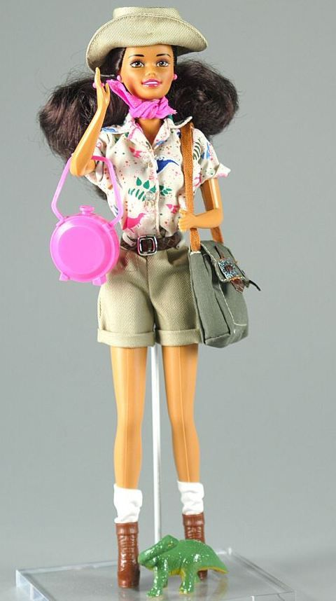 Paleontologist barbie 1996 this doll is party of the barbie career collection she comes - Barbie barbie barbie barbie barbie ...