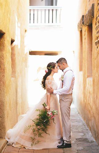 Spanish Wedding in San Juan Capistrano – Inspired By This