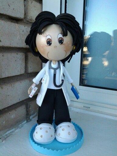 Una doctora fofucha
