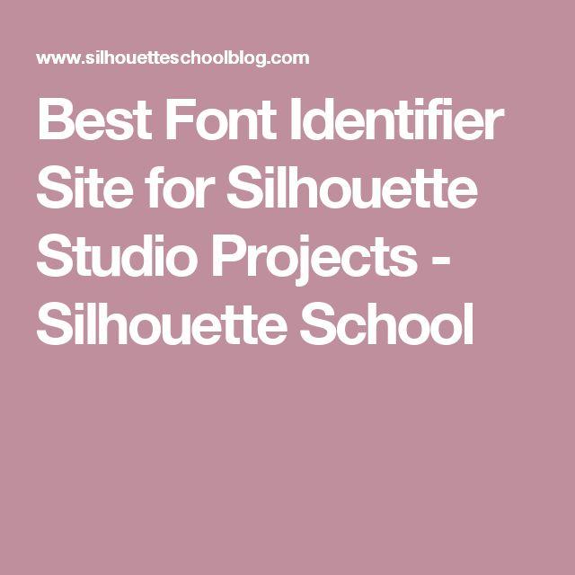 Best Font Identifier Site for Silhouette Studio Projects - Silhouette School