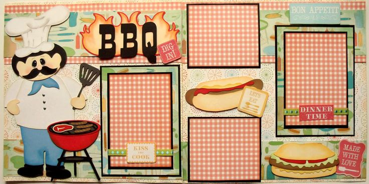 Pazzle Craft Room: 78+ Images About Scrapbooking- Summer & BBQ On Pinterest