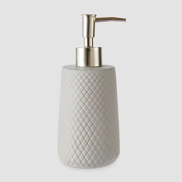 Diamond Ceramic Soap Dispenser