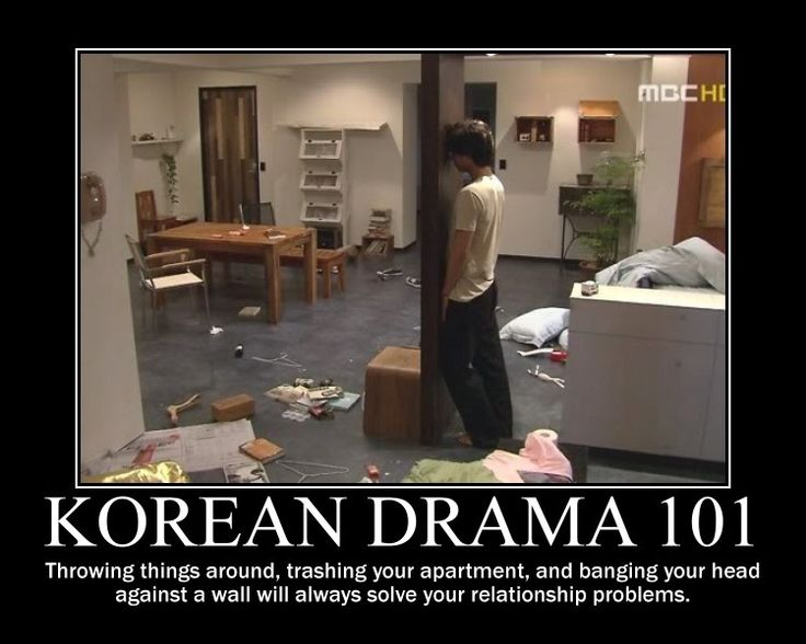 Kdrama 101 Coffee prince. He looked a bit stupid banging his head like that. I mean I liked him but he wasn't really smart for starters so why kill even more brain cells?...
