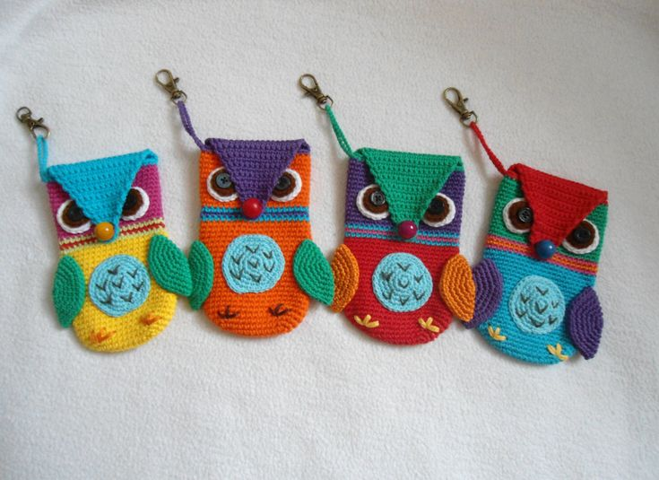 Owl phone case crochet pattern by suwannascraftsroom on Etsy https://www.etsy.com/listing/213128973/owl-phone-case-crochet-pattern