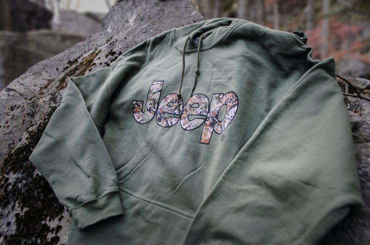 Jeep Hoodie Sweatshirt, Camo
