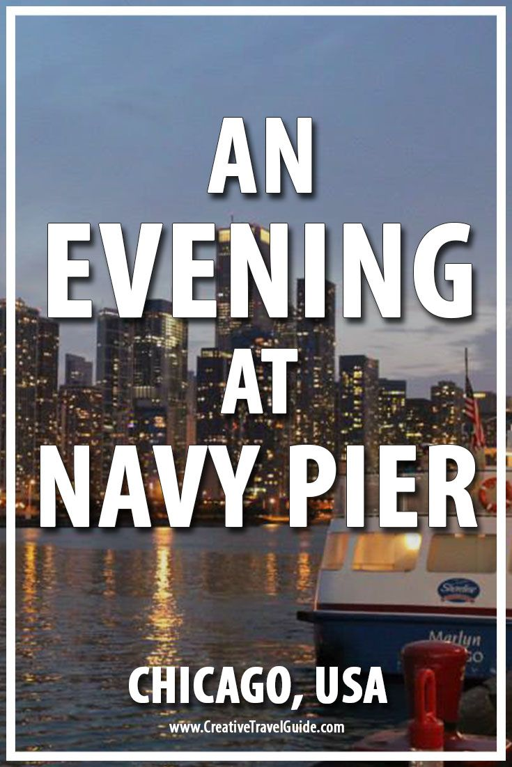Navy Pier, Chicago is an awesome pier! Explore, eat, drink and relax no matter what time of the year. Eat the fresh seafood or admire the gorgeous skyline.