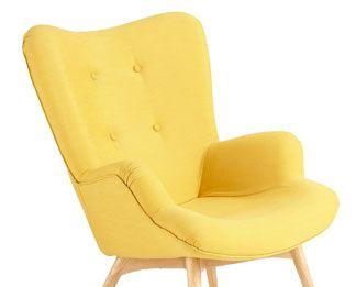 vintage sessel gelb iceberg inspiration pinterest vintage sessel gelb und sessel. Black Bedroom Furniture Sets. Home Design Ideas