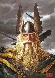 23 – La religión de los germanos era politeísta y de inspiración naturalista, su principal dios era Odín, el señor del cielo y de la tierra, dios de la guerra y del fuego eterno, se le representa cabalgando en las nubes con la cabellera al viento.