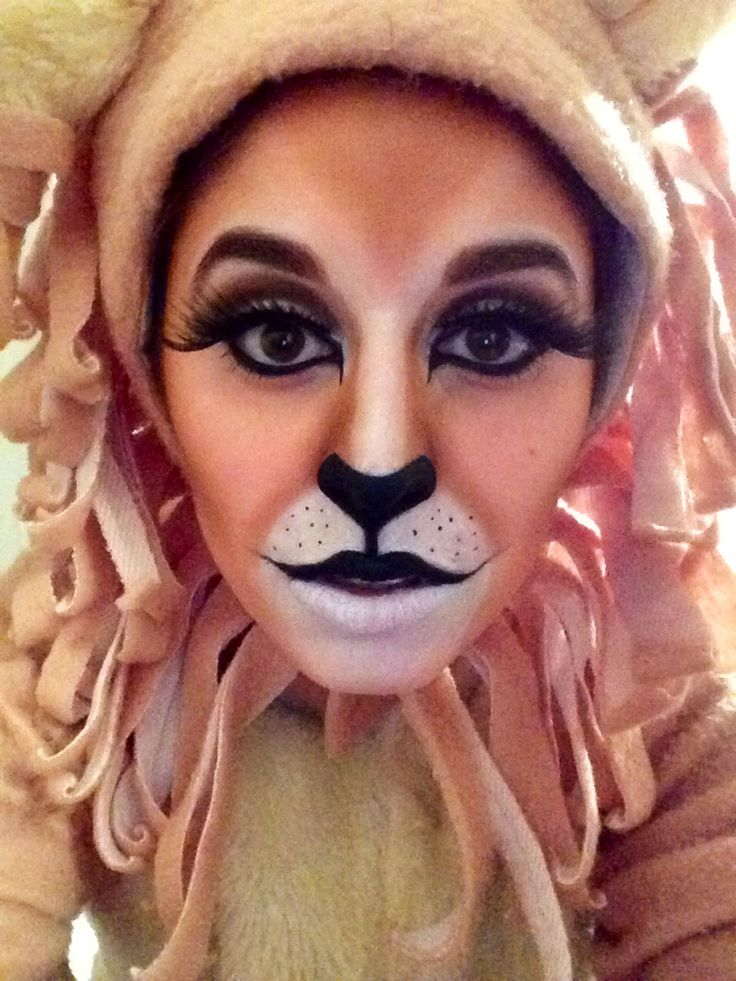 14 Best Images About Lion Makeup On Pinterest | Cats Lion Face Paint And Halloween Costumes