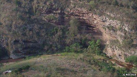 Sibudu Cave, South Africa (Image: Marlize Lombard)            KZN