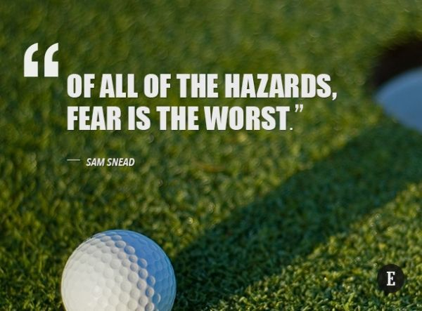 Inspirational Golf Quotes Fascinating Best 25 Inspirational Golf Quotes Ideas On Pinterest  Golf
