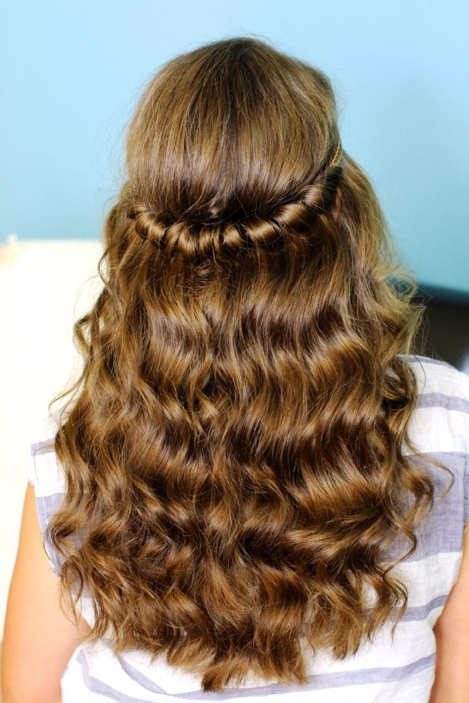 If You Have Medium Length Hair And Additionally A Curly