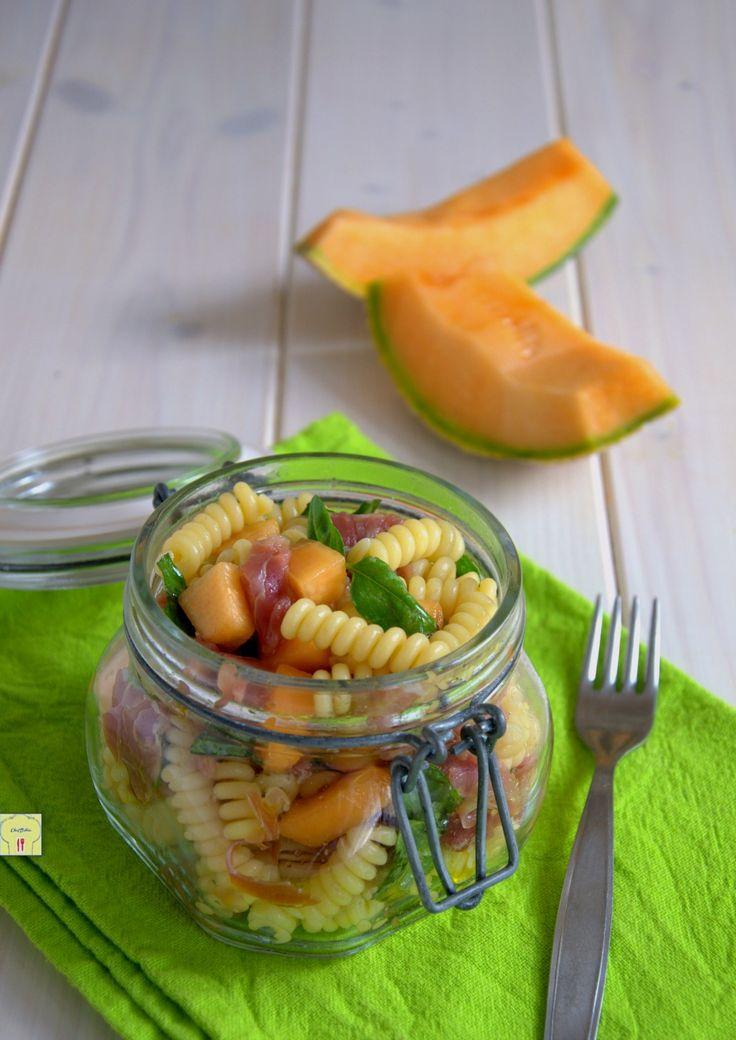 pasta fredda prosciutto e melone