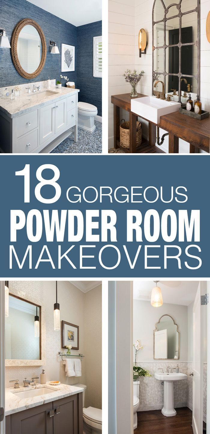 18 Powder Room Ideas Powder Room Home Eclectic Bathroom