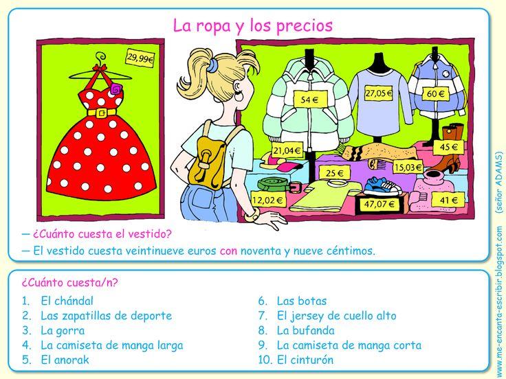 375f3e388a3153cbc5ba6ec0f1a15d2b la ropa spanish activities class activities 776 best tiendas, ir de compras, la ropa images on pinterest