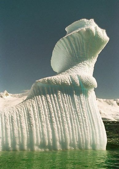 Spiral iceberg in Antarctica | Incredible Pictures