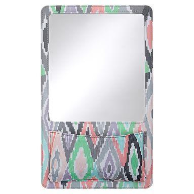 Gear-Up Kaleidoscope Locker Mirror Pocket