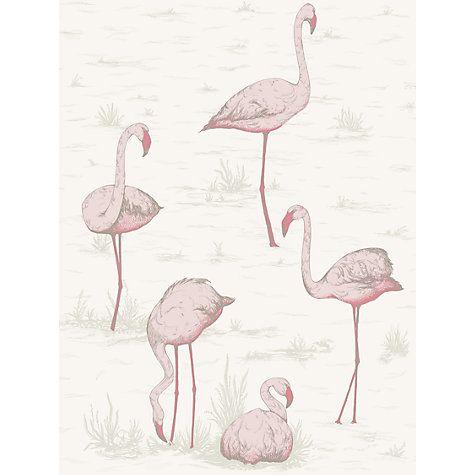 Cole & Son Flamingos Wallpaper  £70 / sq m  johnlewis.com