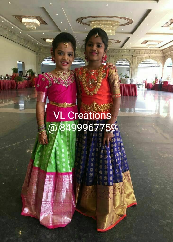 da44757c8c1 Kids collection | VL creations in 2019 | Kids blouse designs, Kids dress  wear, Kids ethnic wear