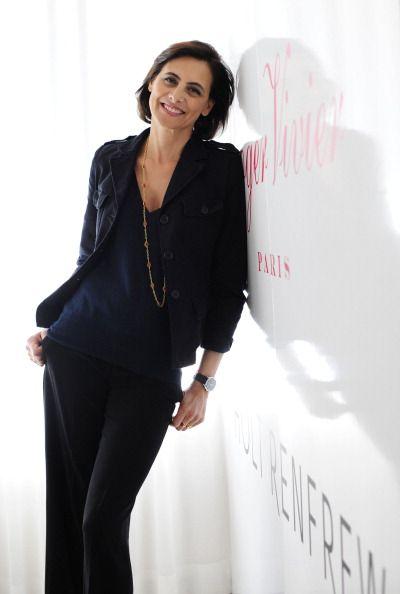 Inès de la Fressange, the famous model and fashion muse photographed at Holt Renfrew in Toronto, Wednesday, April 29th, 2009. ~ Follow my board (La Parisienne @ Lyne Labrèche) for more inspiration!