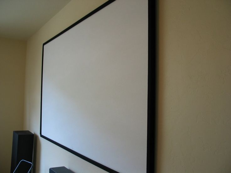 how to make projector screen at home