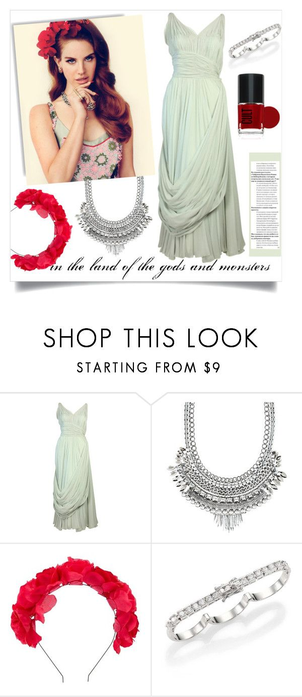 """Lana del Rey (VI)"" by sara-86 ❤ liked on Polyvore featuring Charlotte Russe and Maison Margiela"