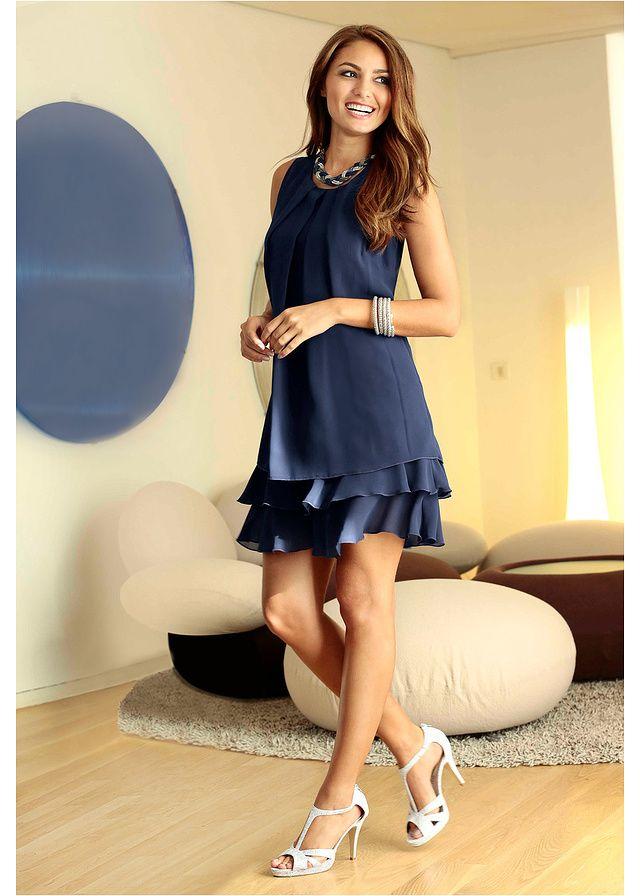 Sukienka szyfonowa Elegancka sukienka • 99.99 zł • bonprix