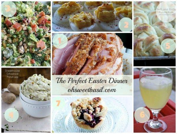 #Easter Dinner ohsweetbasil.com