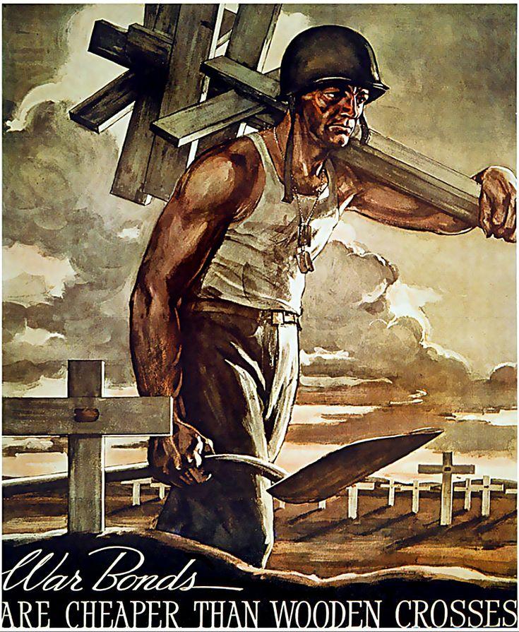 War Bond Posters / Propaganda - Forgotten Futures