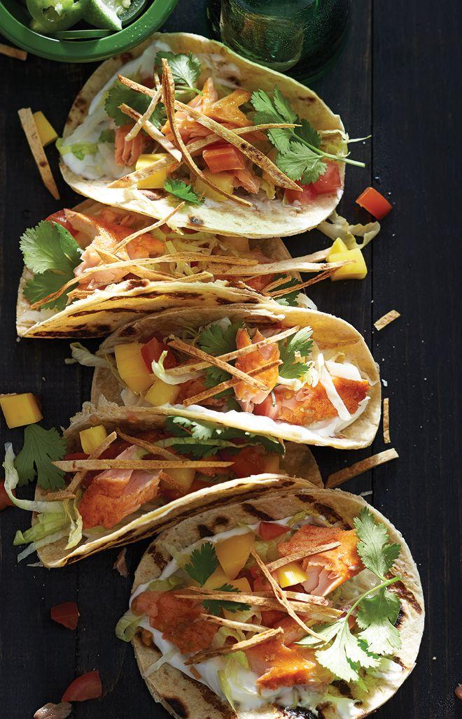 Mini Grilled Fish Tacos