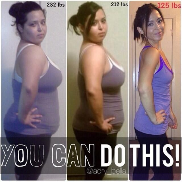 60 incredible weight loss transformation pics that will motivate you!